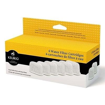 Keurig Six Water Filter Cartridges