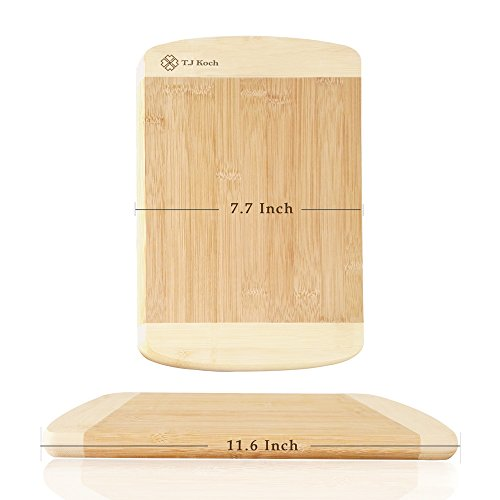 Knife Set,Knife Block Sets Stainless Steel Kitchen Knives 15-Piece 8'' Chef Slicing Bread 5'' Utility 3½'' Paring 4½'' Steak Knives Sharpener Fruit Board, Sharp Blade Classic Handle Grip Gift Box by T.J Koch (Image #5)