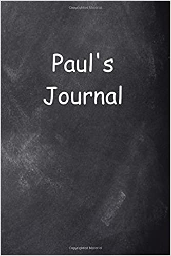 67d809bf4e Paul Personalized Name Journal Custom Name Gift Idea Paul: (Notebook ...