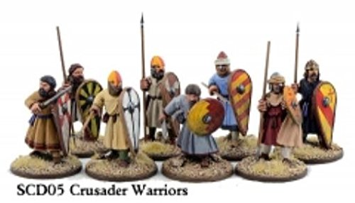 Gripping Beast The Crescent & The Cross Miniatures: Crusader Sergeants on Foot (Warriors) - Crusader Foot