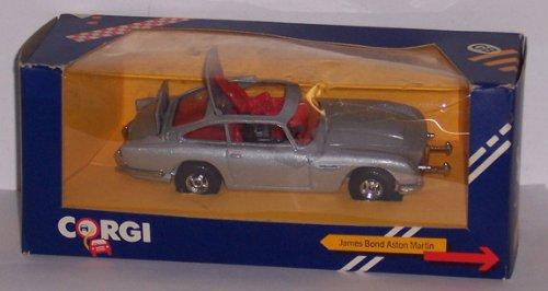 James Bond Aston Martin die cast metal car by Corgi ()