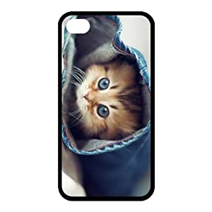 Custom Cat Back case for iphone4,4S JN4S-294 by Maris's Diary