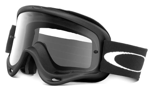 Oakley O-Frame MX Goggles Frame/Clear Lens (Matte Black, One - Clearance Oakleys