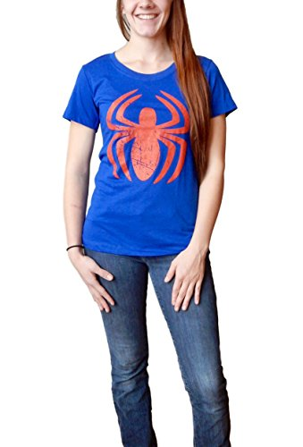 Marvel Spider-Man Logo Juniors T-Shirt (Large) ()