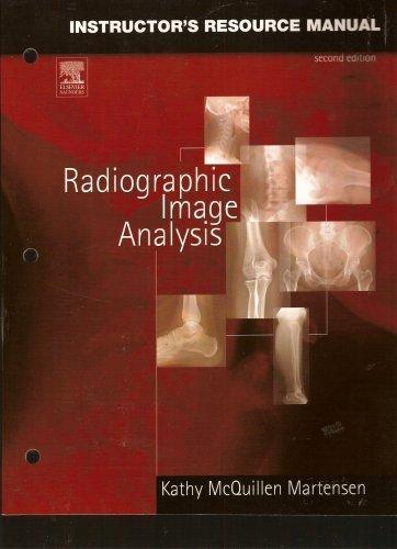 Download Radiographic Image Analysis; Instructor's Resource Manual pdf