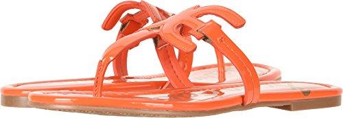 Sam Edelman Women's Carter Tangelo Patent 7.5 W US - Orange Patent Sandals