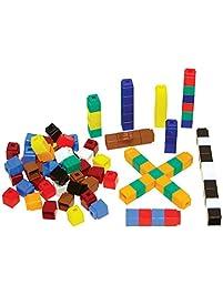 Unifix Cubes, Ten Assorted Colors, Set of 500