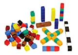 Unifix Cubes, Ten Assorted Colors, Set of 500