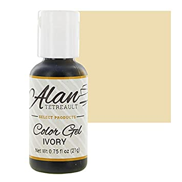 Amazon.com : Ivory Premium Food Color Gel, 3/4 Ounce by Chef Alan ...