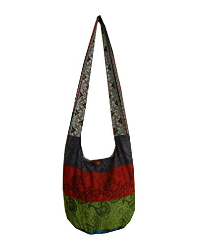 Cotton Hippie Crossbody Messenger Paisley product image