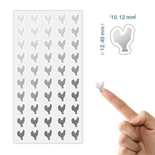 chicken beef fish stickers - 6