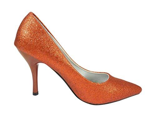 Femme Paillettes À Mariage Strass Chaussures Rouge qzwTnF