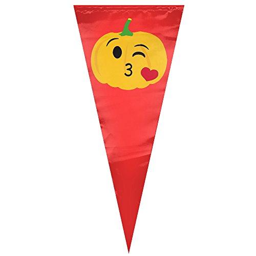 Halloween Pumpkin Love House Flag Garden Flag Indoor Flag ( Sizes: 1230