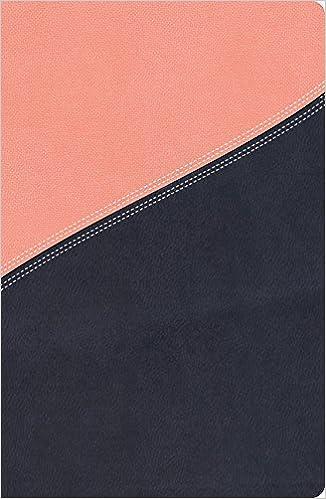 NKJV, The MacArthur Study Bible, Leathersoft, Pink/Navy, Thumb
