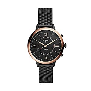 Fossil Women's Jacqueline Stainless Steel Hybrid Smartwatch with Activity Tracking and Smartphone Notifications