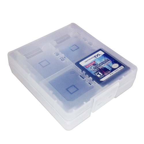 - HDE 16-in-1 Game Card Travel Case Protective Storage Holder Organizer for Nintendo 3DS and DS Cartridges