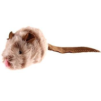 Haustierbedarf Elektrisches Hunde Katzenspielzeug Maus Ratte für Haustiere zur Beschäftigung