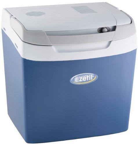 EZetil E26M Thermoelektrische Kühlbox 12/230V, manueller Regler, Blau/Hellblau