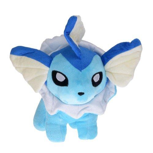 "12"" Pokemon Vaporeon Showers Water Type Figure Stuffed Plush Toy Doll"