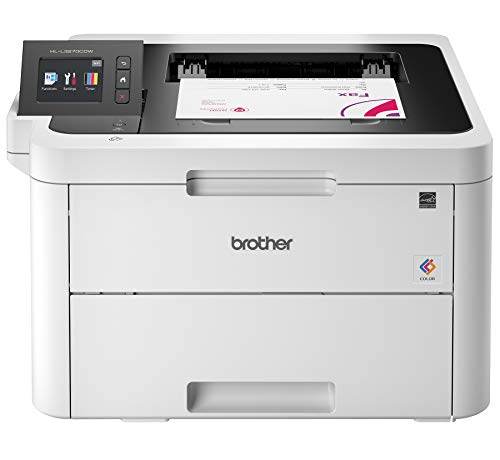 Brother HL-L3270CDW Compact Wireless Digital Color Printer with NFC, Mobile Device and Duplex Printing – Ideal for Home and Small Office Use, Amazon Dash Replenishment Ready