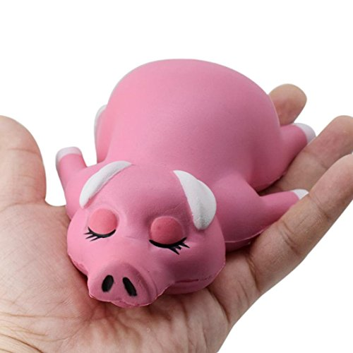 Roast Suckling Pig (Ikevan Toy/Collections Decompression Toys Cute Roast Suckling Pig (Pink))