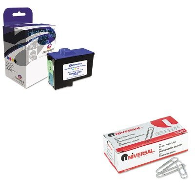 Dpcd7y745c Compatible Ink (KITDPSDPCD7Y745CUNV72220 - Value Kit - Dataproducts DPCD7Y745C Compatible Remanufactured Ink (DPSDPCD7Y745C) and Universal Smooth Paper Clips (UNV72220))