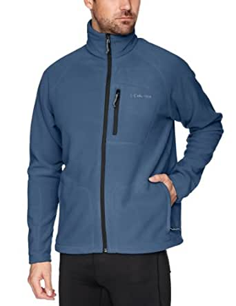 Columbia Men's Big & Tall Fast Trek II Full Zip Fleece Jacket, Mountain, 2X