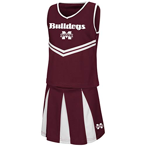 Colosseum Youth NCAA-Girls Cheer Set-Mississippi State Bulldogs-Youth Small