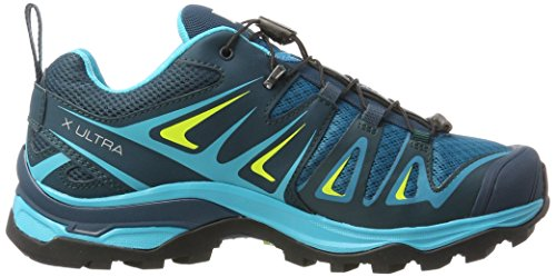 Mujer X Zapatillas 3 Ultra De W Tide tahitian Reflecting Salomon Pond Lime Running Para Azul apq1w88d