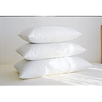this item feather pillow level 3 white standard