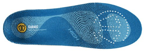 Sidas 3-Feet High Insoles, Blue, X-Small (Mens-3 to 4/Womens-4 to 5) by Sidas