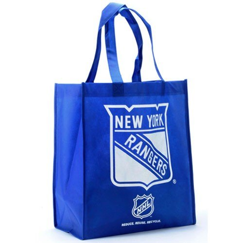 New York Rangers Royal Blue Reusable Tote Bag