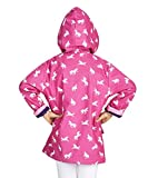 Hatley Girls' Little Printed Raincoats, Tropical