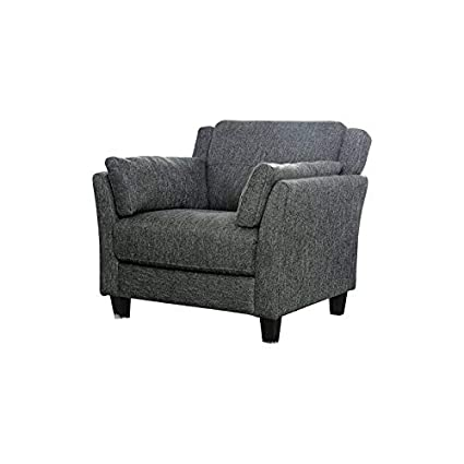 Awesome Amazon Com Furniture Of America Rayshun Modern Accent Chair Dailytribune Chair Design For Home Dailytribuneorg