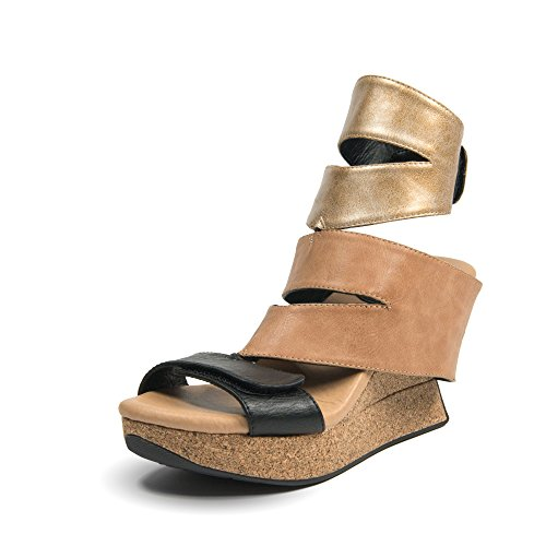 best cheap price buy cheap release dates Modzori Karma Women's High Wedge Reversible Sandal purchase sale online sast cheap online cheap real jKToS3Q