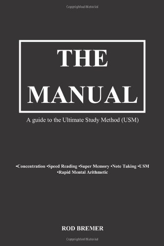 The Manual- A guide to the Ultimate Study Method (USM) PDF
