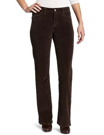 NYDJ Women's Barbara Modern Boot Leg Corduroy Pant, Earth Green, 18