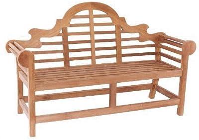 Anderson Teak BH-196 - Natural Marlborough 3-Seater Bench, Natural