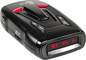 Whistler CR75 High Performance Laser Radar Detector: 360 Degree Protection, Voice Alerts, and Digital Compass