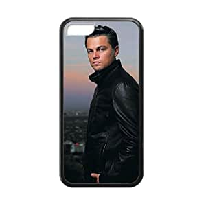 Super Artswow iPhone 5c Leonardo DiCaprio Departed Custom Plastic TPU Cell Phone Case