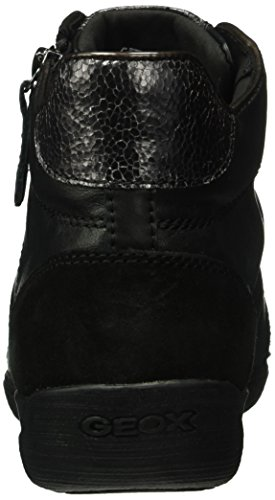 Myria D Altas Mujer Schwarz Blackc9999 Geox D Zapatillas para Azn66q