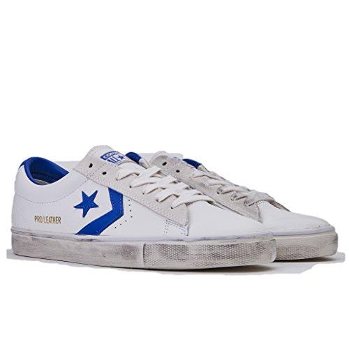 Bianco Vulc Estate pro Pelle Ox Uomo Colore Leather White Blu Collezione Distressed Nuova Sneakers Primavera hyper star In 2018 Converse 160928c I7pwFq