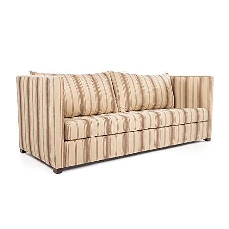 Eclipse Home Collection Venice Sofa Large Loft Burlap No Nailheads 96u0026quot;  L X 40u0026quot;