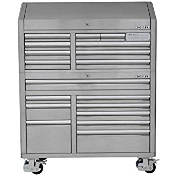 Kobalt Tool Cabinet >> Amazon Com Kobalt 3000 53 In W X 68 7 In H 18 Drawer Ball Bearing