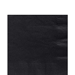 Big Party Pack Jet Black Luncheon Napkins   Pack of 125   Party Supply (B001QF052Q)   Amazon price tracker / tracking, Amazon price history charts, Amazon price watches, Amazon price drop alerts