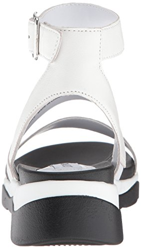 Women's Us 5 White Relish Leather Sandal M 9 Madden Steve 6azx5