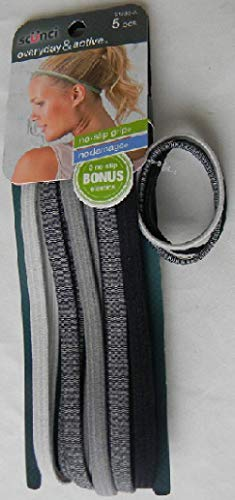 Scunci Everyday & Active Headband Set 21253-A (Pack, used for sale  Delivered anywhere in USA