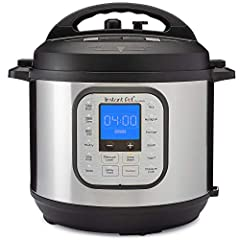 Cooking with the most popular Instant Pot is even easier with the new Duo Nova multi-cooker. Its updated lid means you never again have to worry about whether or not you remembered to close the steam release valve because the Duo Nova lid aut...