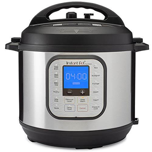 Instant Pot Duo Nova 7-in-1 Electric Pressure Cooker, Slow Cooker, Rice Cooker, Steamer, Saute, Yogurt Maker, and Warmer, 6 Quart, Easy-Seal Lid, 14 One-Touch Programs