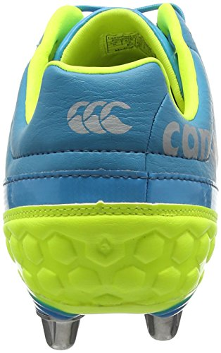 Canterbury Phoenix Club 8 Stud, Botas de Rugby para Hombre Azul (X13 Atomic Blue)